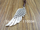 Angel Wing Leather Necklace (Free Shipping) - Necklace - Supernatural-Sickness - 2