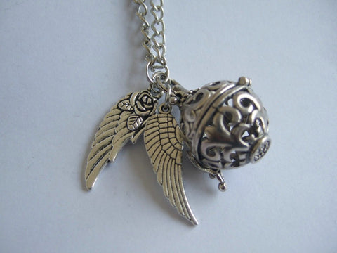 Angel Wing Magic Box Necklace - Necklace - Supernatural-Sickness - 1