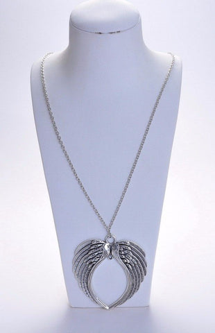 Castiel Angel Wings Necklace (Free Shipping) - Necklace - Supernatural-Sickness - 1