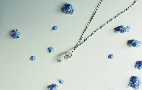 Clear Quartz Crystal Necklace - 42cm - Necklace - Supernatural-Sickness