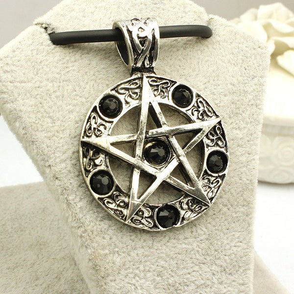Supernatural Pentagram Necklace (Free Shipping) - Necklace - Supernatural-Sickness - 2