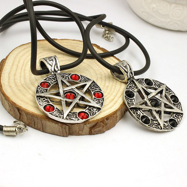 Supernatural Pentagram Necklace (Free Shipping) - Necklace - Supernatural-Sickness - 1