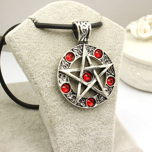 Supernatural Pentagram Necklace (Free Shipping) - Necklace - Supernatural-Sickness - 3