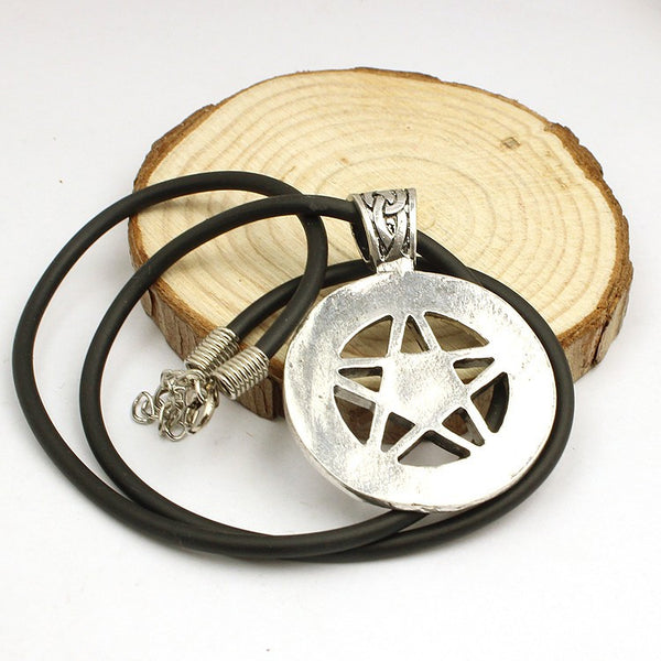 Supernatural Pentagram Necklace (Free Shipping) - Necklace - Supernatural-Sickness - 4