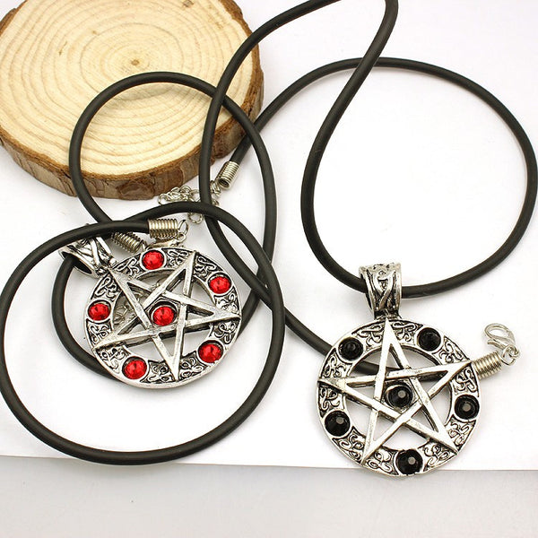 Supernatural Pentagram Necklace (Free Shipping) - Necklace - Supernatural-Sickness - 5