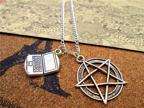 Sam Charms Necklace - Necklace - Supernatural-Sickness