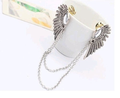 Supernatural Angel Wings Collar Chain Necklace (Free Shipping) - Necklace - Supernatural-Sickness - 1