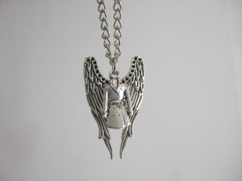 Supernatural Castiel Charm Necklace (Free Shipping) - Necklace - Supernatural-Sickness