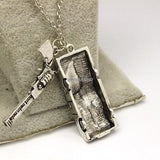 Supernatural Dean Winchester Car With License Plate Necklace (Free Shipping) - Necklace - Supernatural-Sickness - 3
