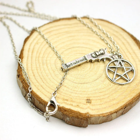 Supernatural Deans Pistol Charm Necklace (Free Shipping) - Necklace - Supernatural-Sickness - 1