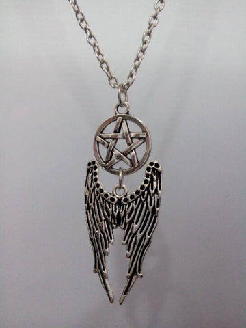 Supernatural Double Feather Angel Wings Necklace (Free Shipping) - Necklace - Supernatural-Sickness
