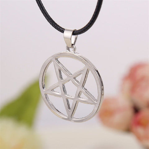 Supernatural Pentagram Pendant Necklace (Free Shipping) - Necklace - Supernatural-Sickness - 1