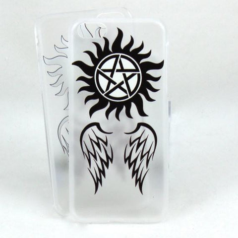 Supernatural Case for IPhone 5c - Angels and Demons - Phone Case - Supernatural-Sickness