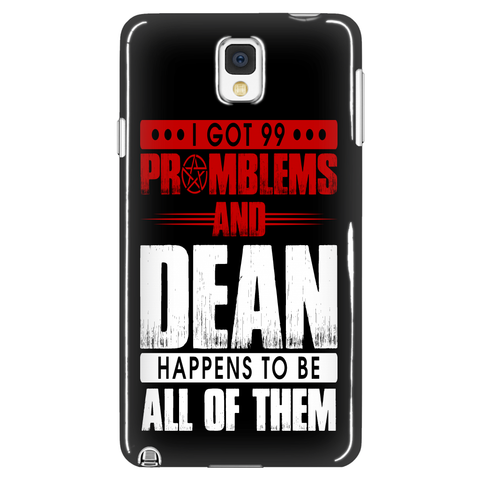 99 problems with Dean - Phonecover - Phone Cases - Supernatural-Sickness - 1