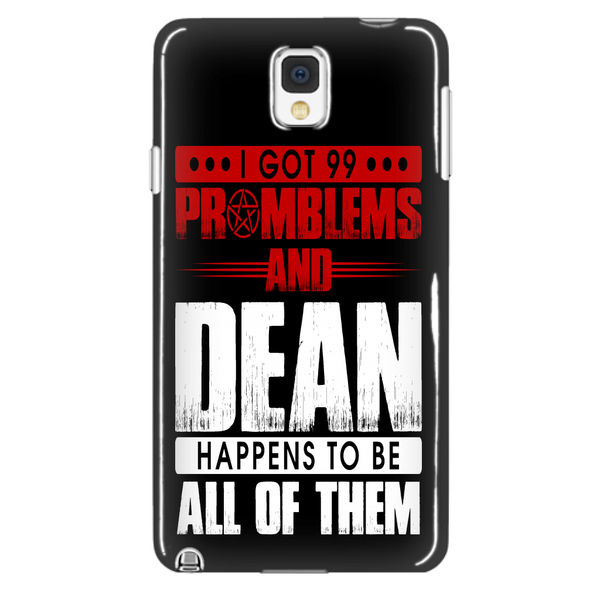 99 problems with Dean - Phonecover - Phone Cases - Supernatural-Sickness - 2