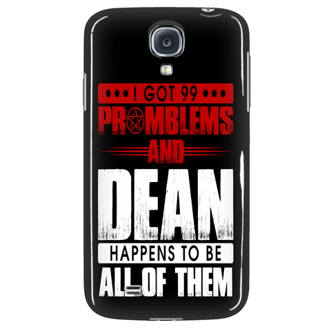 99 problems with Dean - Phonecover - Phone Cases - Supernatural-Sickness - 3
