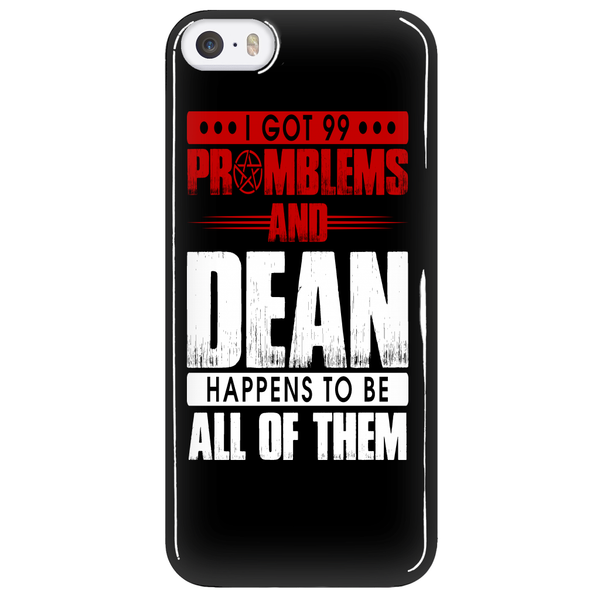 99 problems with Dean - Phonecover - Phone Cases - Supernatural-Sickness - 5
