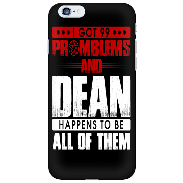 99 problems with Dean - Phonecover - Phone Cases - Supernatural-Sickness - 6