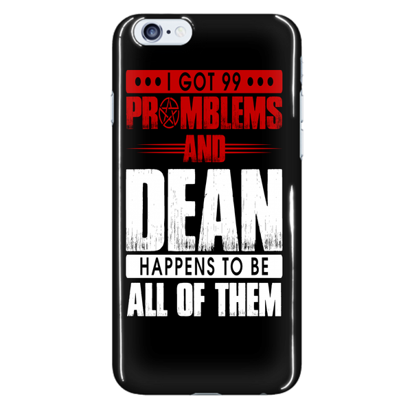 99 problems with Dean - Phonecover - Phone Cases - Supernatural-Sickness - 7
