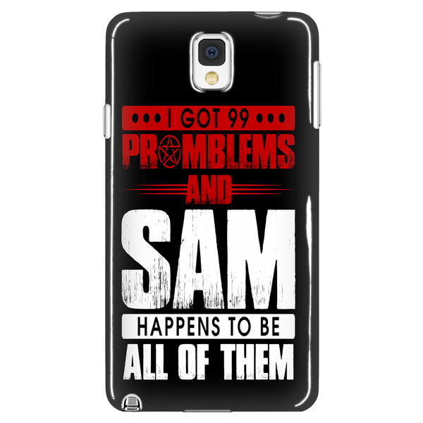 99 problems with Sam - Phonecover - Phone Cases - Supernatural-Sickness - 1