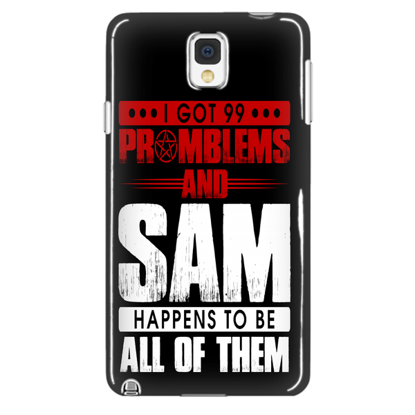 99 problems with Sam - Phonecover - Phone Cases - Supernatural-Sickness - 2