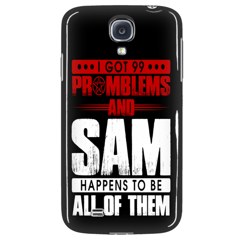 99 problems with Sam - Phonecover - Phone Cases - Supernatural-Sickness - 3