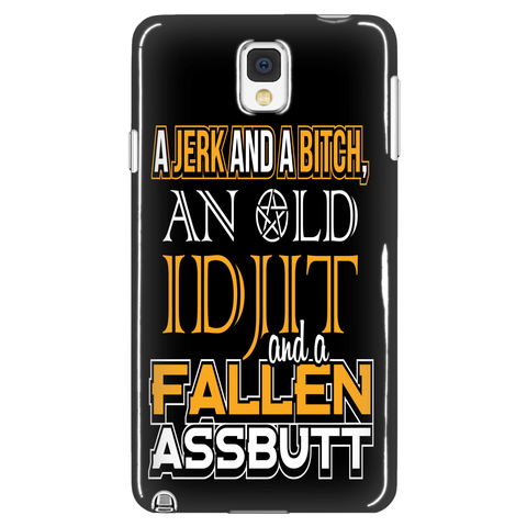 Fallen Idjit - Phone Cover - Phone Cases - Supernatural-Sickness - 1