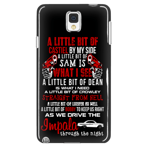 A Little Bit - Phonecover - Phone Cases - Supernatural-Sickness - 1