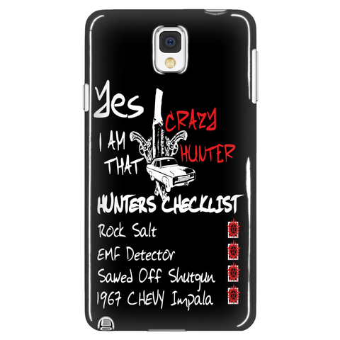 Crazy Hunter - Phonecover - Phone Cases - Supernatural-Sickness - 1