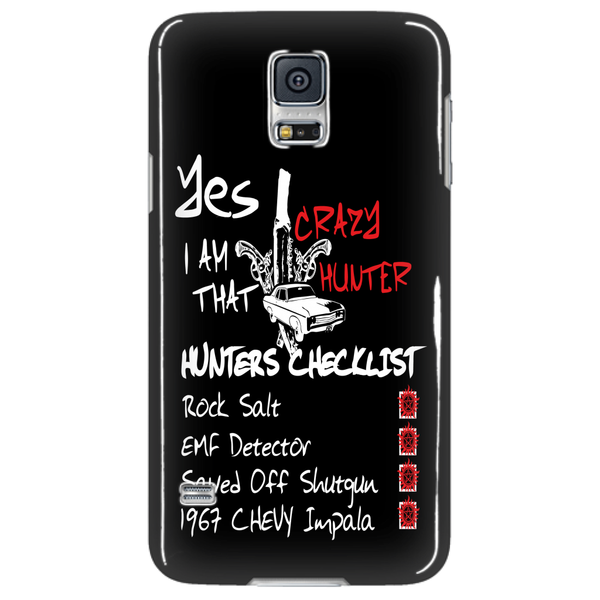 Crazy Hunter - Phonecover - Phone Cases - Supernatural-Sickness - 4