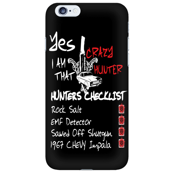 Crazy Hunter - Phonecover - Phone Cases - Supernatural-Sickness - 5