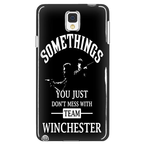 Dont mess with Team Winchester - Phone Cover - Phone Cases - Supernatural-Sickness - 1