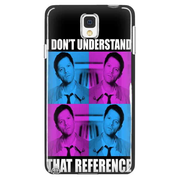 I Dont Understand That Reference - Phonecover - Phone Cases - Supernatural-Sickness - 1