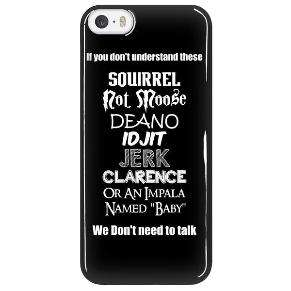If You Dont Understand These - Phonecover - Phone Cases - Supernatural-Sickness - 5