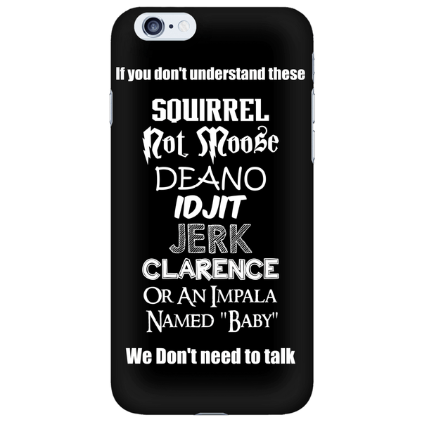 If You Dont Understand These - Phonecover - Phone Cases - Supernatural-Sickness - 6