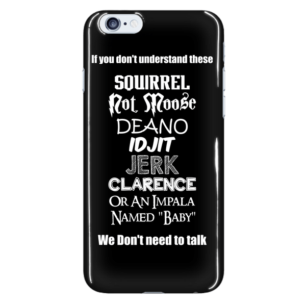 If You Dont Understand These - Phonecover - Phone Cases - Supernatural-Sickness - 7