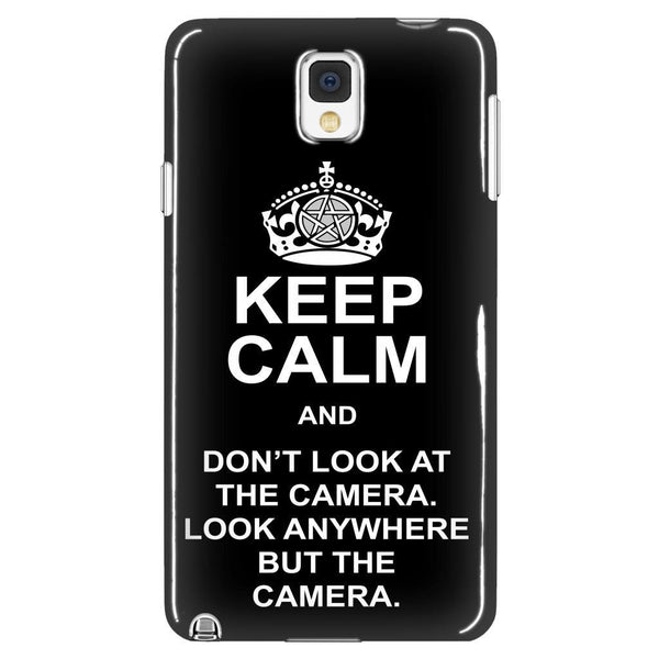 Keep Calm And Dont Look At The Camera - Phonecover - Phone Cases - Supernatural-Sickness - 1