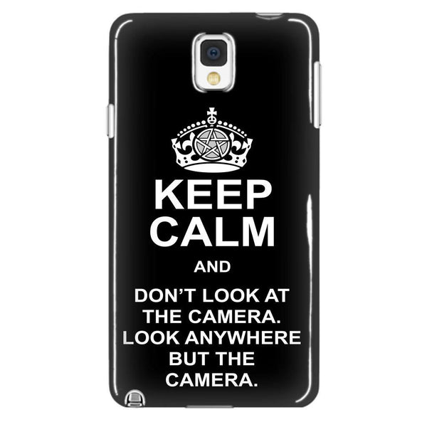 Keep Calm And Dont Look At The Camera - Phonecover - Phone Cases - Supernatural-Sickness - 2