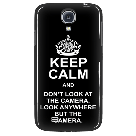 Keep Calm And Dont Look At The Camera - Phonecover - Phone Cases - Supernatural-Sickness - 3