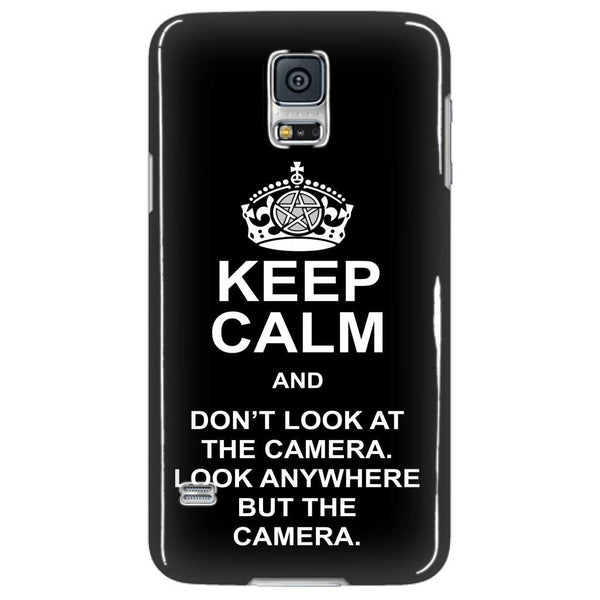 Keep Calm And Dont Look At The Camera - Phonecover - Phone Cases - Supernatural-Sickness - 4