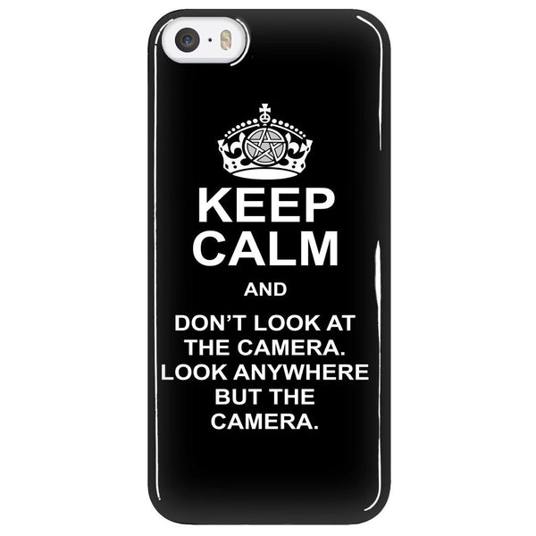 Keep Calm And Dont Look At The Camera - Phonecover - Phone Cases - Supernatural-Sickness - 5