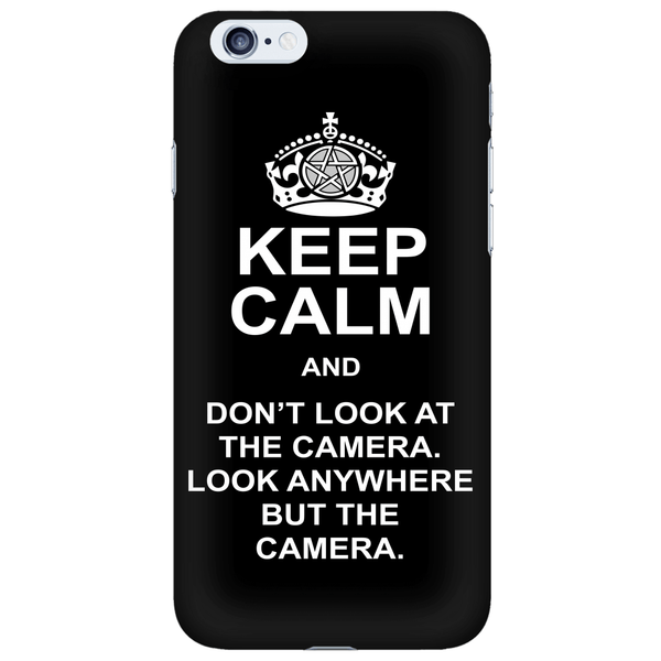 Keep Calm And Dont Look At The Camera - Phonecover - Phone Cases - Supernatural-Sickness - 6