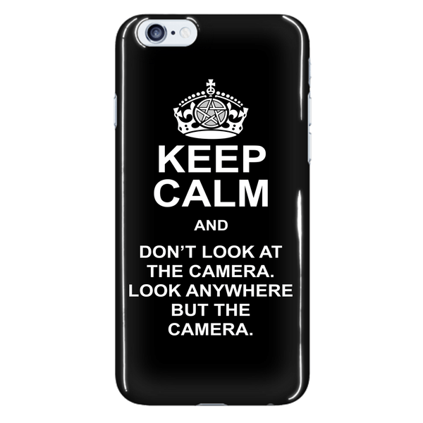 Keep Calm And Dont Look At The Camera - Phonecover - Phone Cases - Supernatural-Sickness - 7