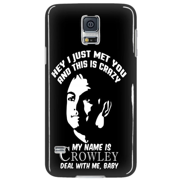My Name Is Crowley - Phonecover - Phone Cases - Supernatural-Sickness - 4
