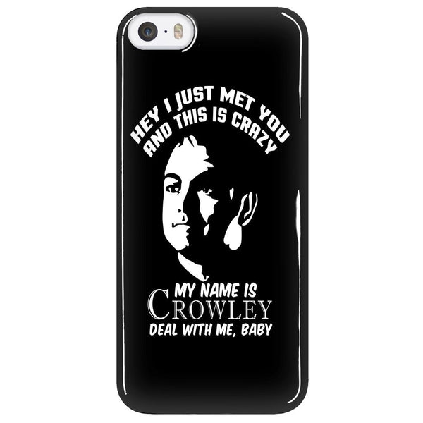My Name Is Crowley - Phonecover - Phone Cases - Supernatural-Sickness - 5