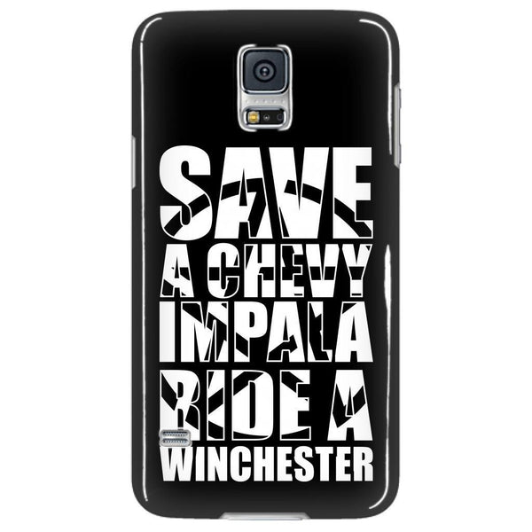 Save A Chevy Impala - Phonecover - Phone Cases - Supernatural-Sickness - 4