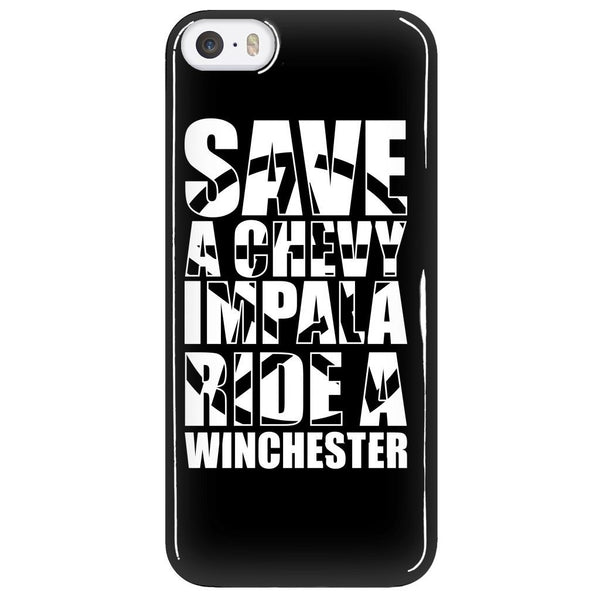 Save A Chevy Impala - Phonecover - Phone Cases - Supernatural-Sickness - 5