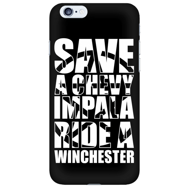 Save A Chevy Impala - Phonecover - Phone Cases - Supernatural-Sickness - 6