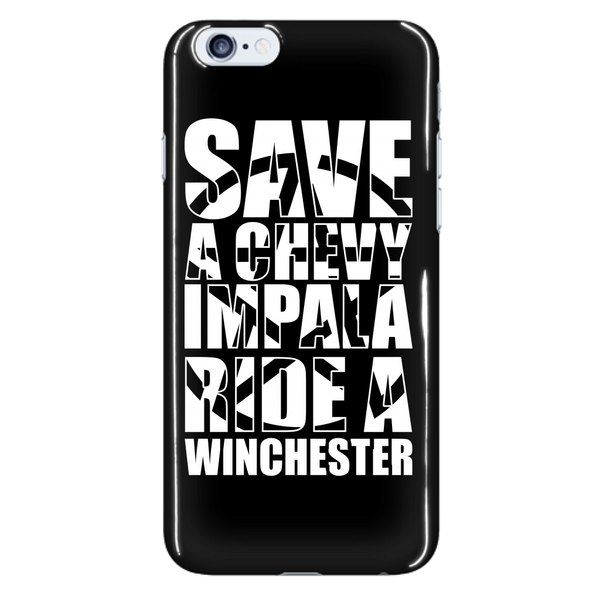 Save A Chevy Impala - Phonecover - Phone Cases - Supernatural-Sickness - 7