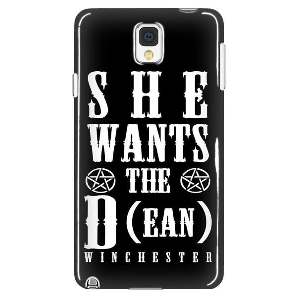 She Wants The D (ean WINCHESTER) - Phone Cover - Phone Cases - Supernatural-Sickness - 1